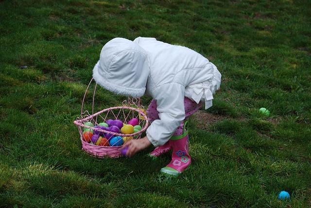 Lion's Easter Egg Hunt