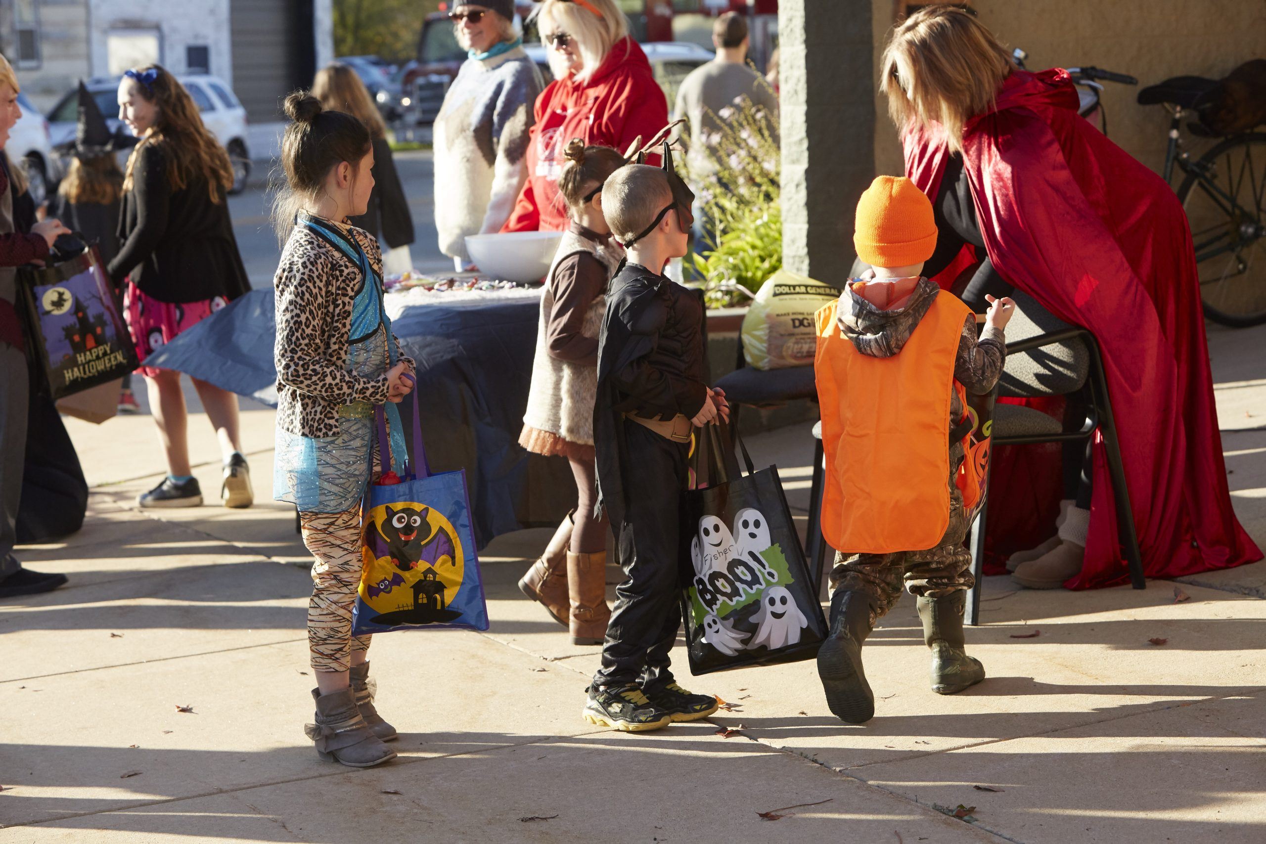 Trick or Treat on Water Street