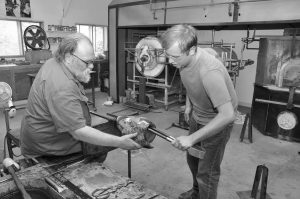 WI Artists Series - Wes and Wesley Hunting @ Bergstrom-Mahler Museum of Glass